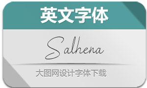 Salhena(英文字体)