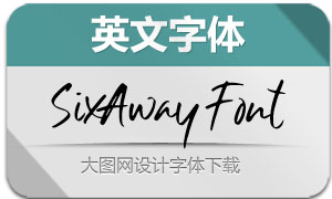 SixAwayFont(英文字体)