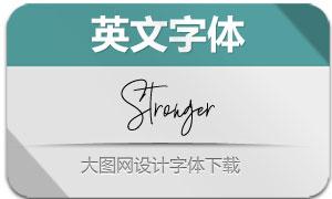 Stronger(英文字体)