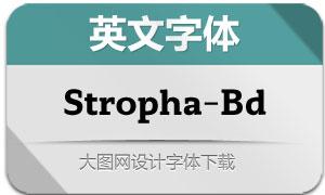 Stropha-Bold(英文字体)