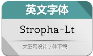 Stropha-Light(英文字体)