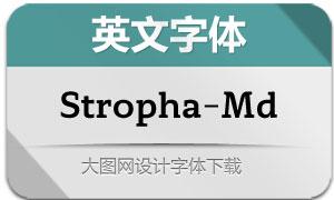 Stropha-Medium(英文字体)
