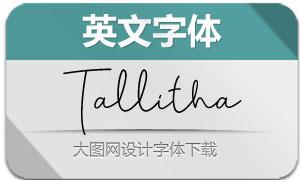 Tallitha(英文字体)
