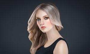 美发造型美女模特人物摄影高清图片