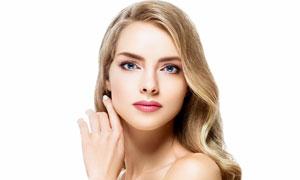 护肤美容人物主题写真摄影高清图片