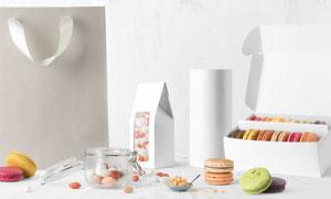 多种食品包装效果展示贴图模板文件