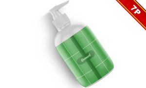 大大小小的护肤品瓶子包装贴图模板