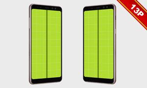 SamsungA8系列手机主题原型素材