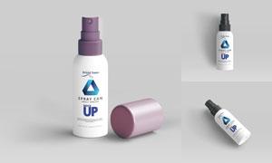 爽肤保湿喷雾产品包装信息贴图模板