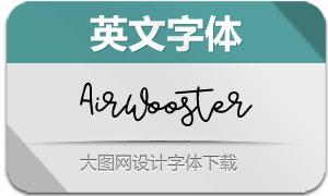 AirWooster(英文字体)