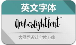 AmberLightFont(英文字体)