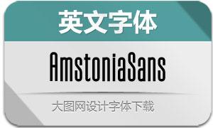 AmstoniaSans(英文字体)
