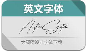 AmstoniaSignature(英文字体)