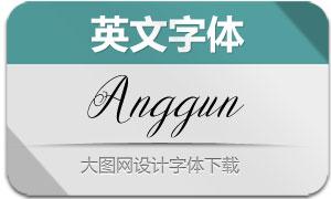 Anggun(英文字体)