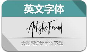 ArtisticFriend(英文字体)