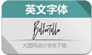 Belfortello-Regular(英文字体)