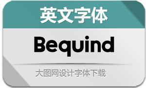 Bequind(英文字体)