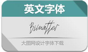 Bimatter(英文字体)