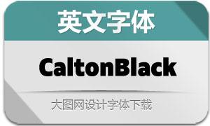 Calton-Black(英文字体)