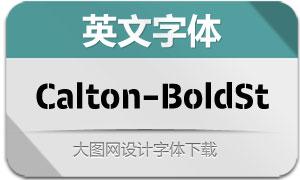 Calton-BoldStencil(英文字体)