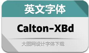 Calton-ExtraBold(英文字体)