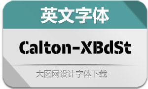 Calton-ExtraBoldStencil(英文字体)