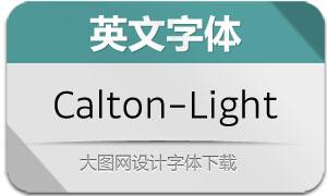 Calton-Light(英文字体)