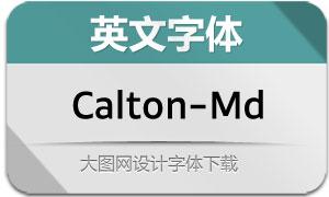 Calton-Medium(英文字体)