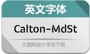 Calton-MediumStencil(英文字体)