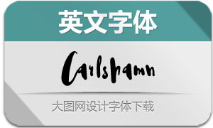 Carlshamn-Regular(英文字体)