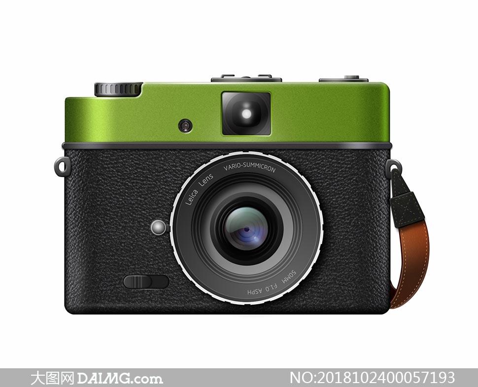 绘制逼真的照相机图标PS教程素材