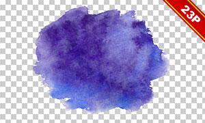 颜色丰富的水彩背景图案免抠素材V2