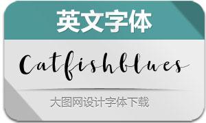 Catfishblues-Regular(英文字体)