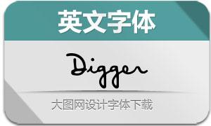 Digger(英文字体)