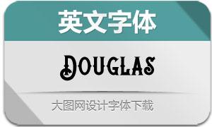 Douglas(英文字体)