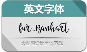 Fur_Banhart-Regular(英文字体)