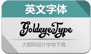 GoldeyeType(英文字体)