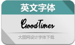 GoodTimes-Regular(英文字体)