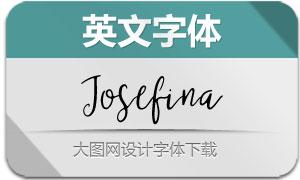 Josefina-Regular(英文字体)