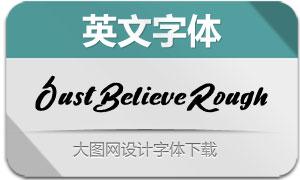 JustBelieveRough(英文字体)