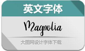 Magnolia(英文字体)