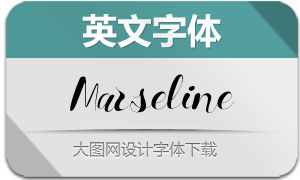 Marseline-Regular(英文字体)