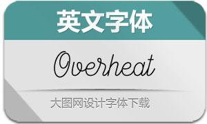 Overheat(英文字体)