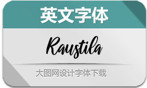 Raustila-Regular(英文字体)