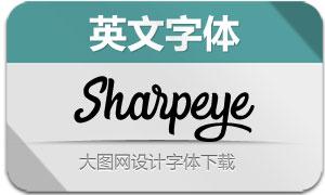 Sharpeye(英文字体)