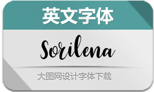 Sorilena-Regular(英文字体)