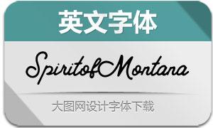 SpiritofMontana(英文字体)