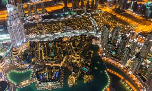 城市星罗棋布建筑风光摄影高清图片
