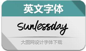 Sunlessday(英文字体)