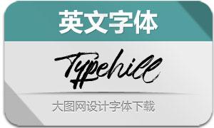 Typehill(英文字体)